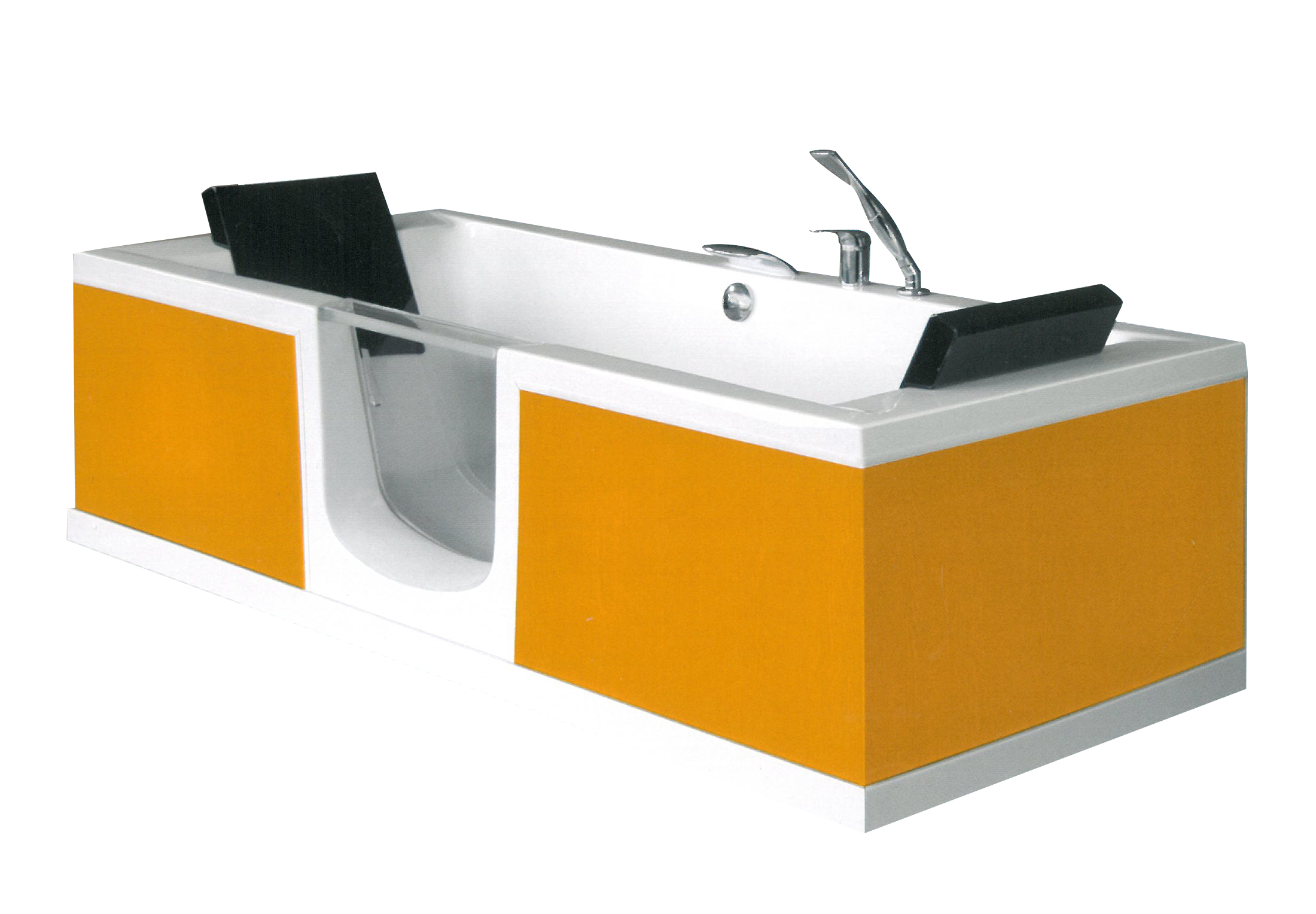 La baignoire porte belle ile un bain en position allong e for Baignoire a porte prix