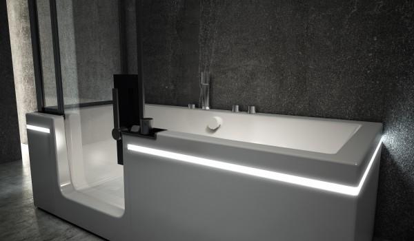 Teuco Prêt A Porter : combiné bain douche design et pratique