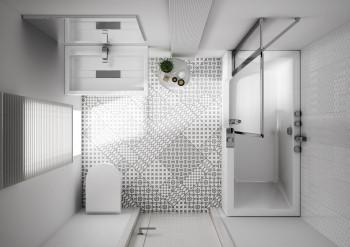 Choisir un combin bain douche pour une petit salle de bain for Salle de bain baignoire et douche petit espace