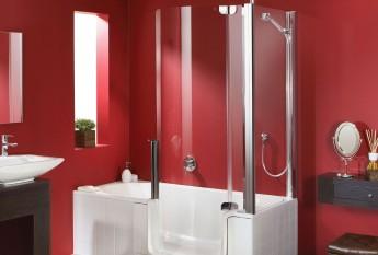 Le combiné bain douche Twinline 1 : le classic