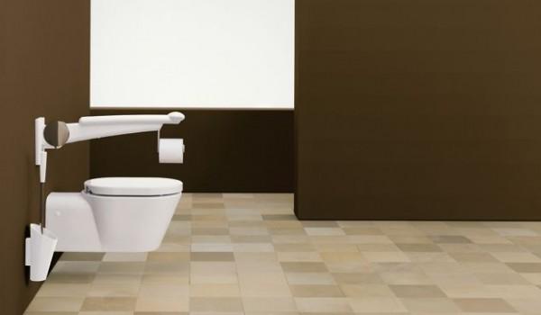 Les accessoires de design universel pour une salle de bain moderne ergonomiq - Ensemble accessoires wc ...