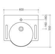 Dimensions lavabo 101