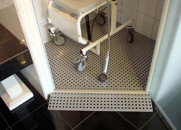 Exemple rampe de douche