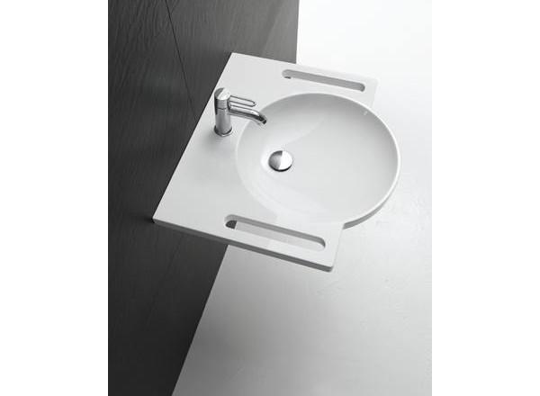 Lavabo HEWI vasque ronde