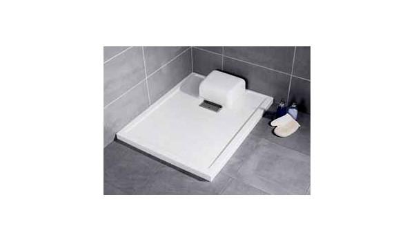 douches de plain pied receveurs de douche et rideaux de. Black Bedroom Furniture Sets. Home Design Ideas