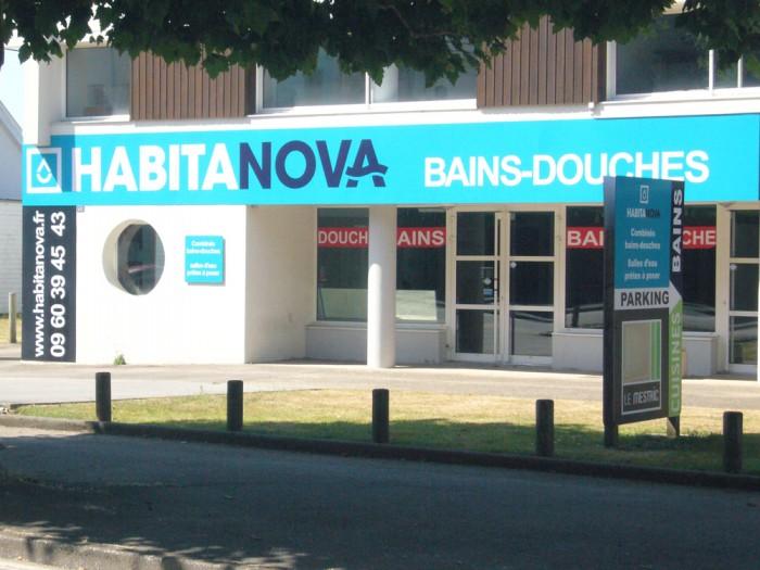 Showroom et nouvel enseigne Habitanova à Vannes
