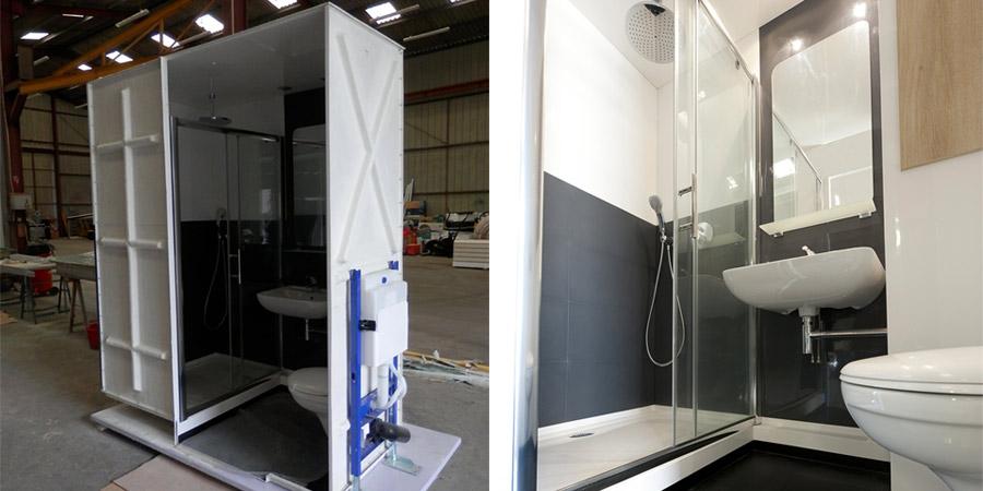 Habitanova le sp cialiste de la salle de bain pr fabriqu e - Salle d eau salle de bain ...