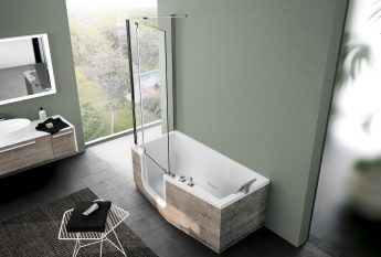 le combin baignoire douche teuco pr t a porter. Black Bedroom Furniture Sets. Home Design Ideas