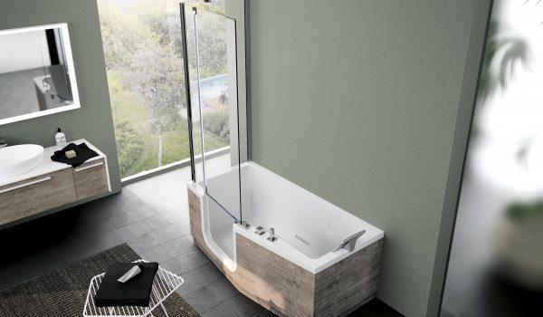 IRIS COMBY Combiné bain douche avec siège