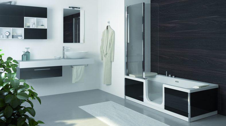 Saniduo habitanova - Modele de salle de bain avec douche et baignoire ...