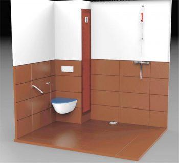 Mobilistar la salle d 39 eau aux grandes dimensions pour pmr - Dimension salle d eau ...