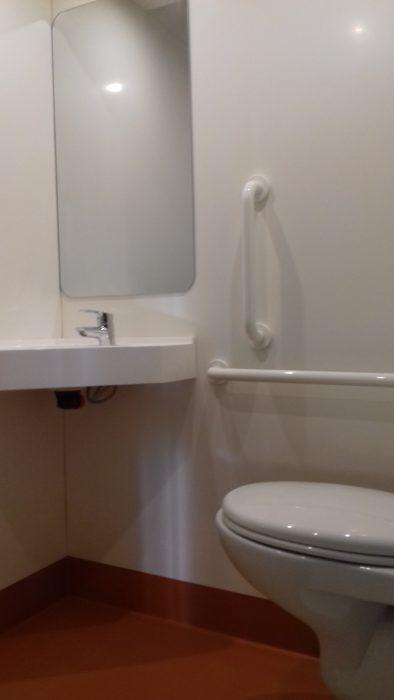 MOBILISTAR accès fauteuil sous lavabo