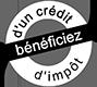 Bénéficiez d'un crédit d'impôt logo