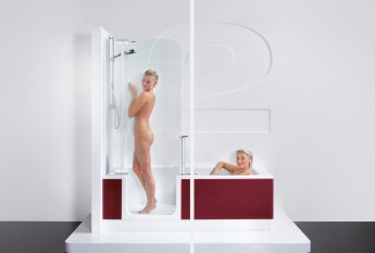 Les combinés bain-douche d'Habitanova