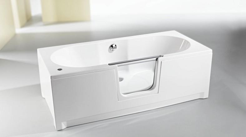La baignoire à porte Saniku Komfort