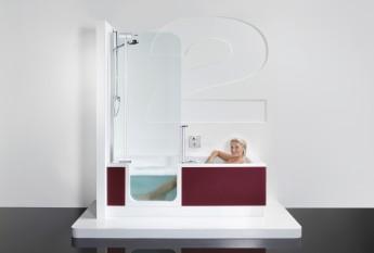 La baignoire et la douche réunies : Twinline 2 d'Artweger