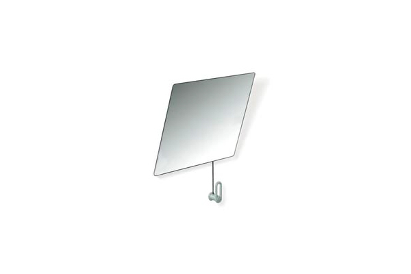 Miroir inclinable avec manivelle HEWI