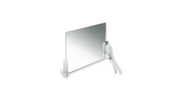 Miroir inclinable LifeSystem avec éclairage de HEWI