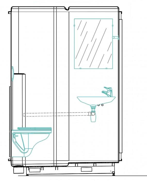 Schèma Simplinova WC