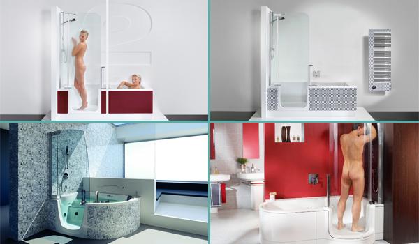 Combinés douche et baignoire pour un confort maximal