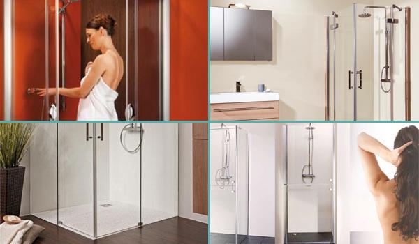 Des pares-douches et des receveurs pour fabriquer une douche de plain-pied sur mesure